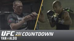 Watch: UFC 251 Countdown: Yan vs Aldo