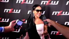 MLW's Salina De La Renta press confernce prior to her first producing credit of MLW Fusion