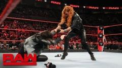 Ronda Rousey Busted Open By Becky Lynch After Beating Ruby Riott At Elimination Chamber; Charlotte Also Attacked