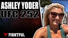 Ashley Yoder Details Intense Underwater Training | UFC 252