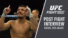 Rafael dos Anjos comments on his submission win over Kevin Lee.