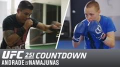 Watch: UFC 251 Countdown: Andrade vs Namajunas 2