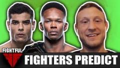 Fighters Predict: Israel Adesanya vs. Paulo Costa At UFC 253