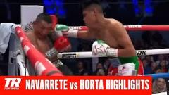 Emanuel Navarrete Scores TKO Win Over Francisco Horta To Retain WBO Super Bantamweight Title