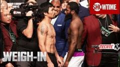 Manny Pacquiao vs. Adrien Broner Weigh-In Live Stream