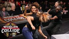 NXT & NXT UK Break Even At World's Collide, Kai & Nox Brawl   Post-Worlds Collide Fight-Size Update