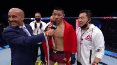 Video: Li Jingliang KOs Santiago Ponzinibbio, Condit vs. Brown Delivers | UFC Fight Island 7 Highlights