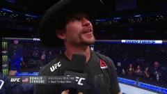 Donald Cerrone after defeating Alexander Hernandez.