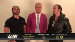 AEW Given Initial Refusal On Trademarks