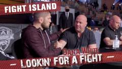 Video: Dana White Lookin' For A Fight In Abu Dhabi