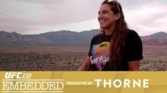 Watch: UFC 250 Embedded: Vlog Series - Episode 2