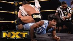 Velveteen Dream vs. Roderick Strong In A Steel Cage Set For 3/4 NXT