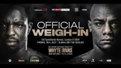 Dillian Whyte vs. Oscar Rivas Weigh-In Results