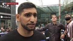 Amir Khan On Not Continuing Fight Against Terence Crawford After Low Blow: I Didn't Quit