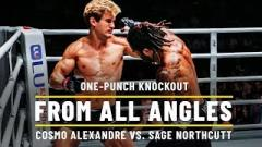 ONE Championship: Cosmo Alexandre vs. Sage Northcutt