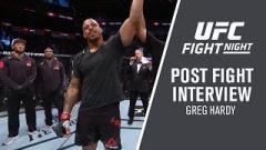 Greg Hardy UFC Boston Fight
