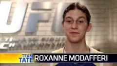 Roxanne Modafferi during The Ultimate Fighter Season 18.
