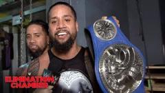 The Usos Win SmackDown Tag Titles At WWE Elimination Chamber; Miz And Maryse Awaiting Second Child