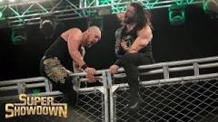 King Corbin Uses Deontay Wilder's Excuse To Justify Loss To Roman Reigns At WWE Super ShowDown