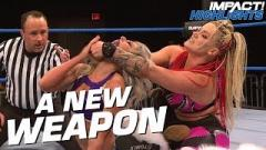 Taya Feared Broken Orbital Bone On Moonsault Slip Up