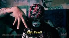Pentagon Jr Working Angle With 'Cinder Block Attacker' Angel O Demonio