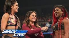 Bayley Challenges Ember Moon To Smackdown Women's Title Match At WWE Summerslam