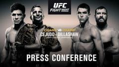 UFC Fight Night Brooklyn Pre-Fight Press Conference Live Stream At 2pm EST.