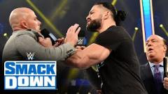 Roman Reigns Calls Adam Pearce A Puss Live On WWE Smackdown On FOX