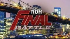 Ring Of Honor's 'Final Battle' PPV Match Times
