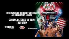 Lucha Libre AAA Coming To Los Angeles On October 13