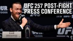 Watch: UFC 257 Post-Fight Press Conference Video Live Stream