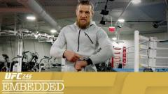 McGregor Cuts Weight | UFC 246 Embedded: Vlog Series - Episode 5