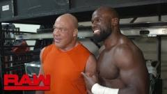Apollo Crews Talks Wrestling Kurt Angle In One Of His Last Matches