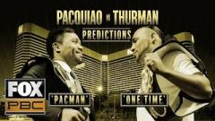 Fight-size Boxing Update: Pacquiao-Thurman Predictions, FITE Secures Rights For July 20 Event