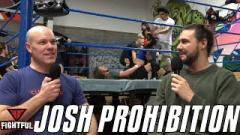 Josh Prohibition: From Breaking Tables In The Backyard To Molding Minds In The Ring