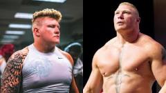 Brock Lesnar-esque Parker Boudreaux Backstage At NXT Tapings Last Week
