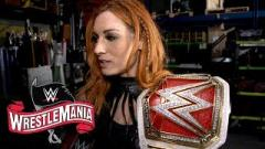Becky Lynch Wanted To Make Her Fans Proud In WrestleMania 36 Match Against Shayna Baszler