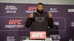 UFC Fighters React To Curtis Blaydes Finishing Junior dos Santos At UFC Raleigh