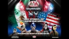 Lucha Libre AAA Invading NY Results (9/15): Cain Velasquez, LAX vs. Lucha Bros, Wagner Jr vs. Demon Jr