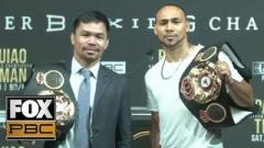 Keith Thurman Wants To Retire Manny Pacquiao: I'll Show Pacquiao Where The Exit Is