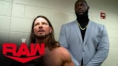 AJ Styles: I Don't Have A Bodyguard, I Have A Friend. We Will Dominate On The Basketball Court