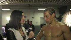 Urijah Faber after winning his farewell fight in December 2016.