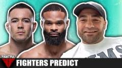 UFC Vegas 11: Fighters React To Colby Covington vs. Tyron Woodley