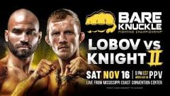 Bare Knuckle FC 9 Results (11/16): Jason Knight Knocks Out Artem Lobov