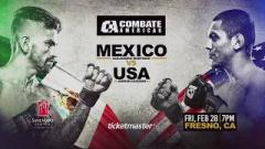 Combate Americas: Mexico vs. USA Weigh-In Results, One Fighter Misses Weight
