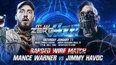 Mance Warner vs. Jimmy Havoc In No Ropes Barbed Wire Match Set For MLW: Zero Hour On January 11
