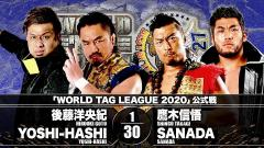 NJPW World Tag League Night Eight Results (11/24): Shingo And SANADA Team In Main Event