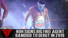 Report: Bandido Signs Full-Time Contract With Ring Of Honor