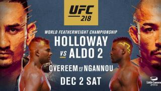 UFC 218 Results: Holloway vs. Aldo II, Ngannou Battles Overeem For A Title Shot & Two Potential FOTY Candidates