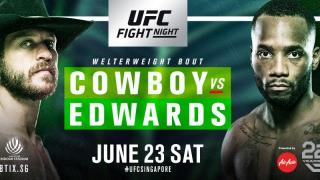 UFC Fight Night Singapore 2018 Results: Donald Cerrone & Leon Edwards Headline, Plus A Battle Of The Jessica's